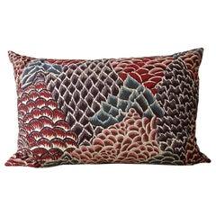 Braquenie Cotton Pillow Le Rocher French Vintage