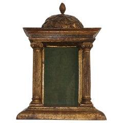 Small 18th Century Spanish Baroque Altar Shrine