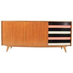 Midcentury Long Sideboard, Jiri Jiroutek, 1960s