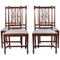 Set of 14 Early 19th Century Style Mahogany Dining Side Chairs
