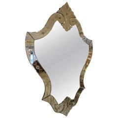 1940s Venetian Mirror