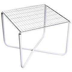 Postmodern White Jarpen Table by Niels Gammelgaard for Ikea, 1983