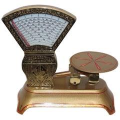 Early 1900s Jacob Brothers Mini Candy Scale