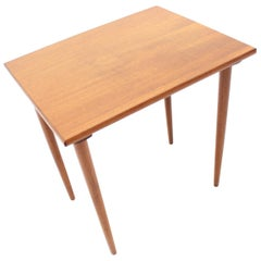 Midcentury Single Nesting Table, Denmark, 1960s