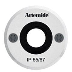 Artemide Ego 55 Rundes 14° Downlight in Edelstahl von Ernesto Gismondi