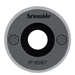 Artemide Ego 55 Round 32° Downlight in Stainless Steel by Ernesto Gismondi