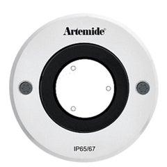 Artemide Ego 90 Round 24° Downlight in Aluminum by Ernesto Gismondi