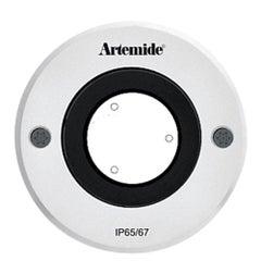 Artemide Ego 90 Round 10°X40° Downlight in Aluminum by Ernesto Gismondi