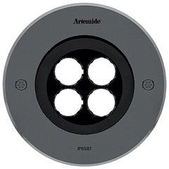 Artemide Ego 150 Round Downlight in Stainless Steel by Ernesto Gismondi
