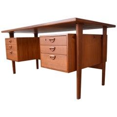 Midcentury Kai Kristiansen Fm60 Teak Desk, 1958