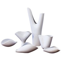 """Veckla"" Vessels by Stig Lindberg for Gustavsberg, Sweden, 1950s"