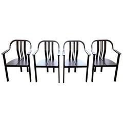 Vintage Beech Dining Chairs by Stefan Billík for Tatra nabytok, 1980´s