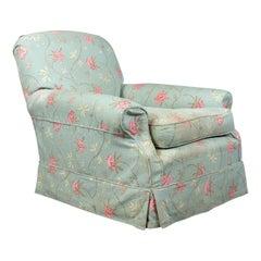 Antique Armchair, English, Edwardian, Deep Club Chair, circa 1910