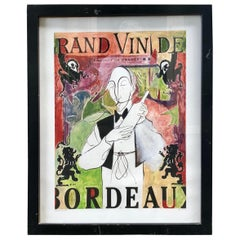 Grand Vin De Bordeaux Artists Proof by Ken Maryanski