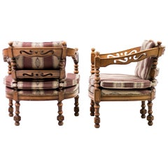 Pair of Giorgetti Armchairs