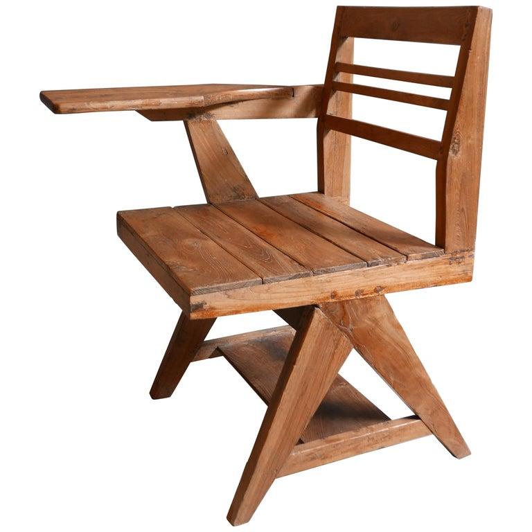 Pierre Jeanneret, Classroom Chair, 1960