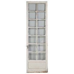 Antique French Door in Old Paint