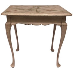 Small Swedish Gustavian Style Side or Cocktail Table
