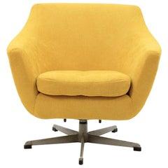 1970s Swivel Chair, Czechoslovakia