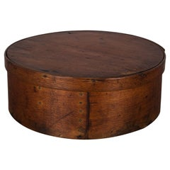 19th Century Primitive Shaker Pantry or Cheese Box, circa 1800s