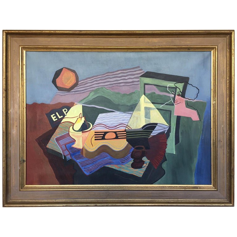 Cubist Oil Painting