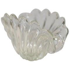 Murano Shell Glass Bowl