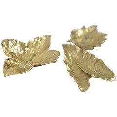 Decorative American Brass Bowl Set of Three