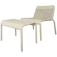 Warm White French Design and Lounge Seating Set