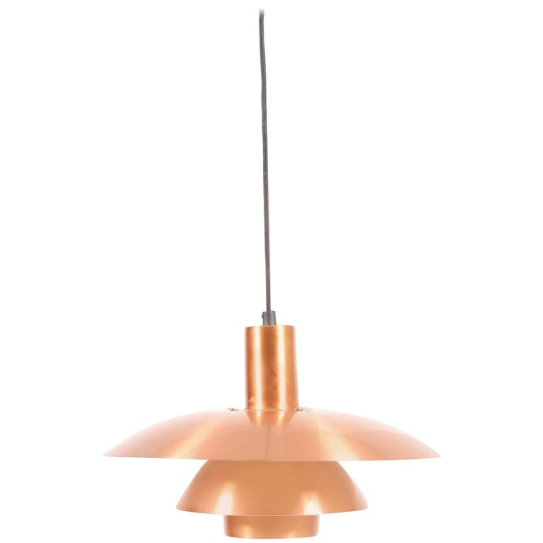 Copper Pendant by Poul Henningsen For Sale