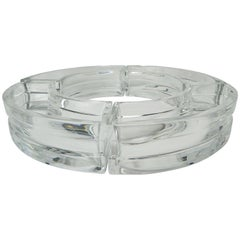 Baccarat Round Four-Piece Serving Dish