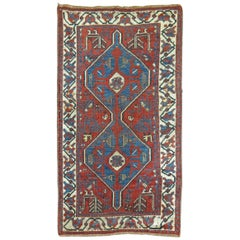 Persian Tribal Throw Rug