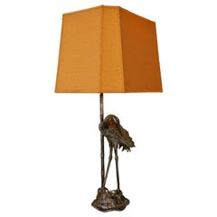 Crane Bird Table Lamp