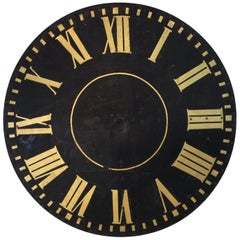 Monumental Tower Clock Face