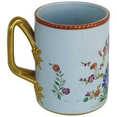 Italian Mottahedeh Reproduction of Lowestoft Fine Quality 18th Century Mug