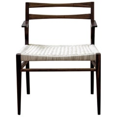 Agnes Wood and Rattan Armchair by ATRA