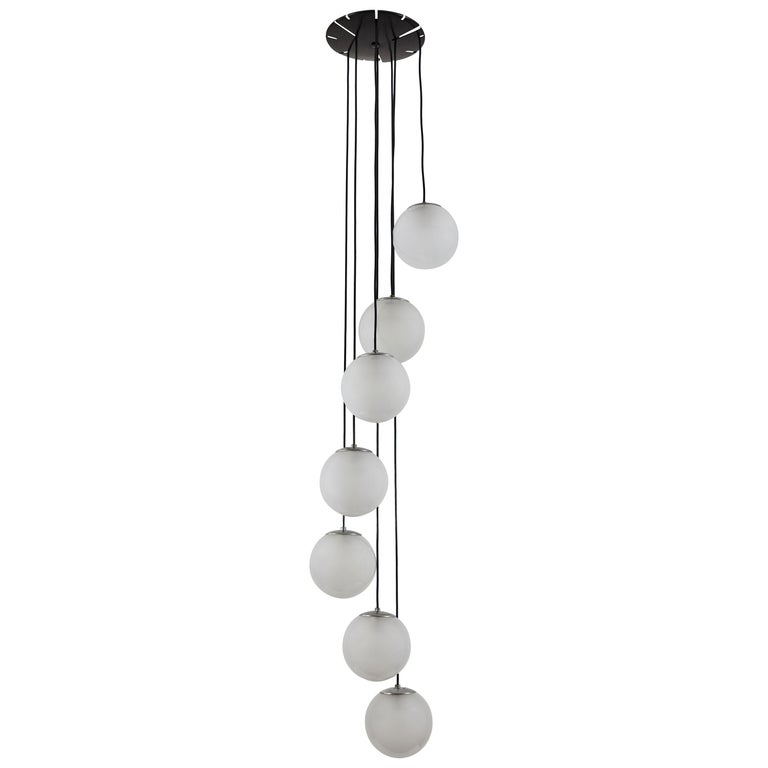 Model 2095/7 Chandelier by Gino Sarfatti for Arteluce