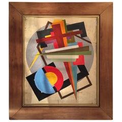 Oscar Troneck Oil on Canvas