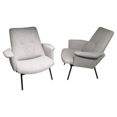 Pair of Sk660 Armchairs by Pierre Guariche