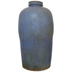 Helle Alpass, Denmark, Colossal Vase of Glazed Stoneware