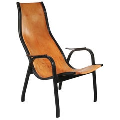 "Yngve Ekström ""Kurva"" Lounge Chair for Swedese, 1953"