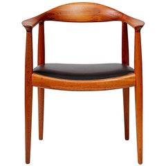 Hans Wegner JH-503 Chair, Teak