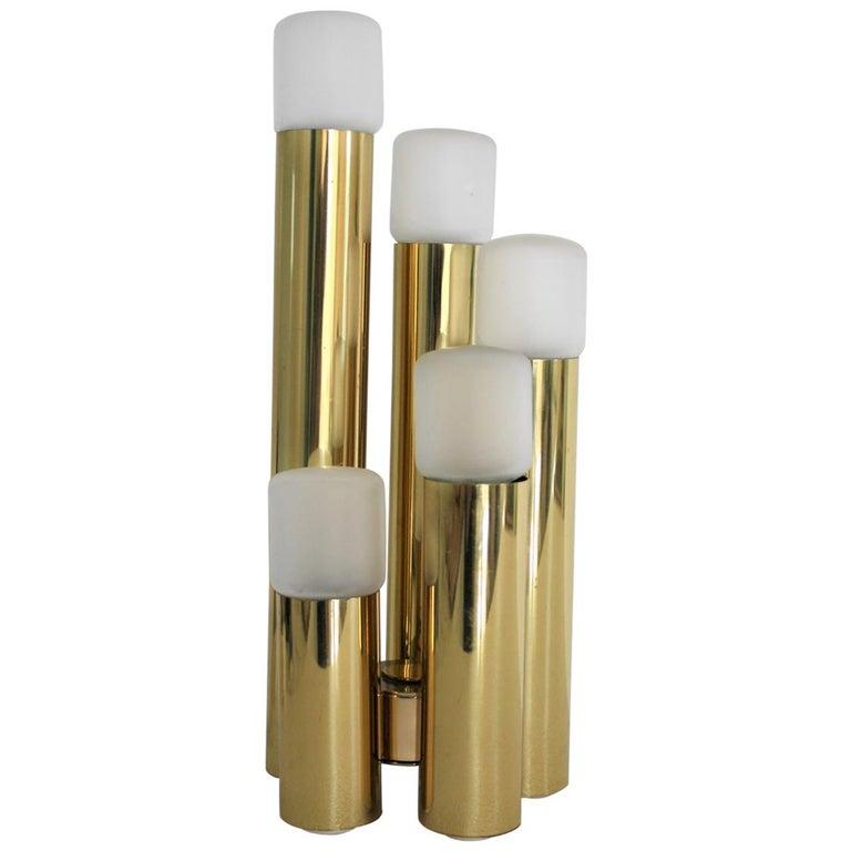 Brass Sciolari Table Lamp, 1970s