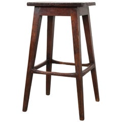 English 19th Century Mahogany Stool