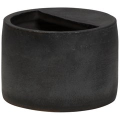 Jonathan Nesci W/ Robert Pulley Ceramic Vessel with Black Coppered Glaze 18/05