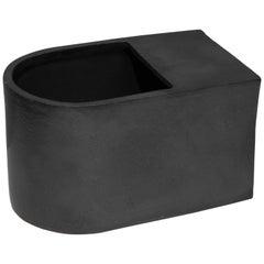 Jonathan Nesci w/ Robert Pulley Ceramic Vessel with Black Coppered Glaze 18/07