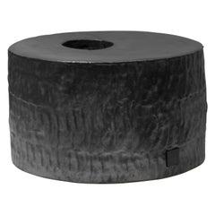 Jonathan Nesci w/ Robert Pulley Ceramic Vessel with Black Coppered Glaze 18/11