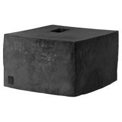 Jonathan Nesci w/ Robert Pulley Ceramic Vessel with Black Coppered Glaze 18/12