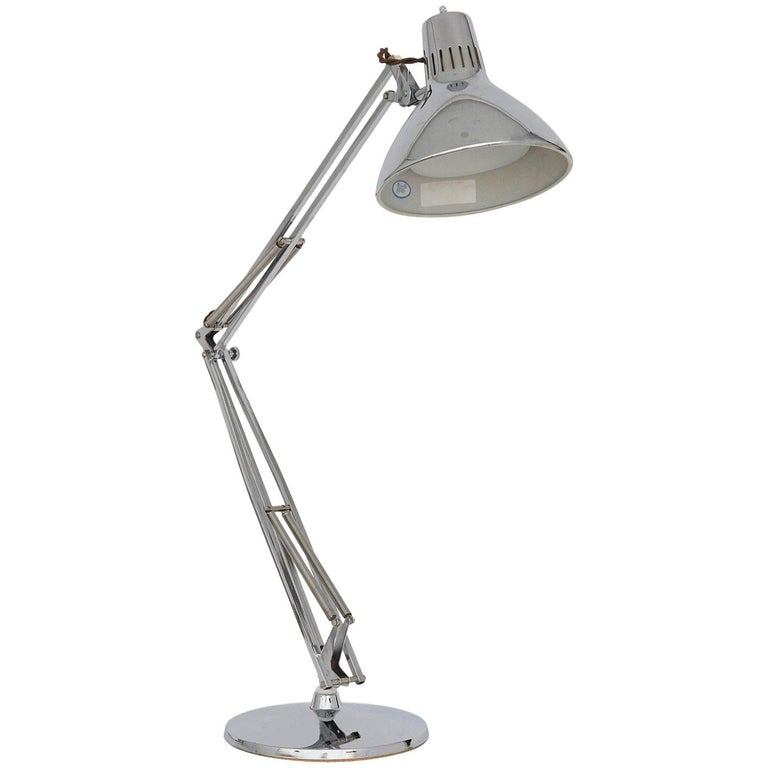 Chrome Task Lamp