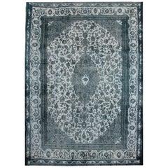 Vintage Persian Rugs, Grey Rug, Revival Carpet