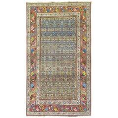 Persian Kurd Bidjar Rug with Camel Background